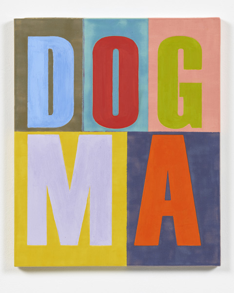 Anne Berning - DOGMA. 2016. 48x48. MEDIA