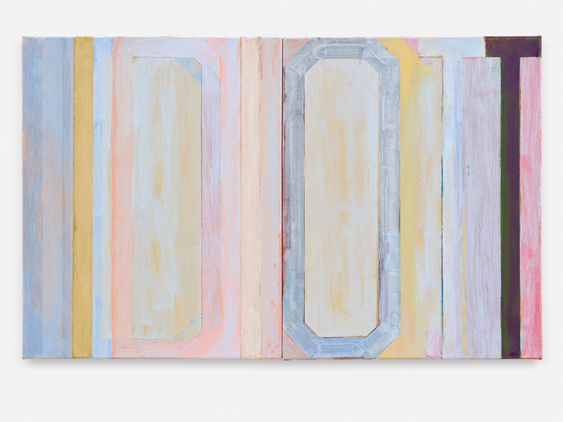 Anne Berning - IDIOTT. 2018. Óleo sobre lienzo. 50 x 80 cm. Unico
