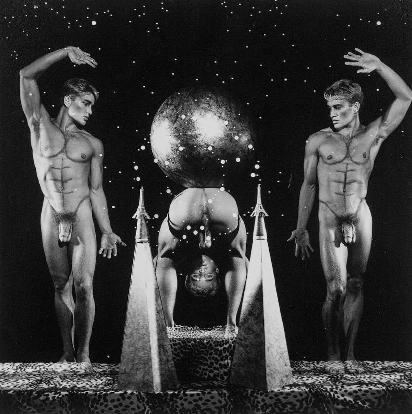 Steven Arnold - Center of the Universe. 1989. Gelatina de plata vintage. 20' x 16'. Ed. de 12.
