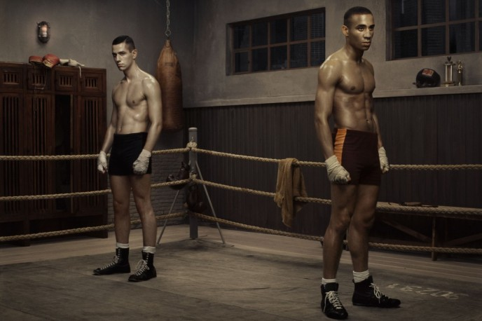 Erwin Olaf .- Hope, The Boxing School. 2005