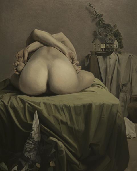 Antonio Montalvo. Bisbiseo. 2014. 162 x 130 cm