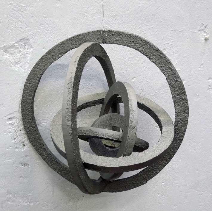 Manu Muniategiandikoetxea .-1-6 aluminio rugosa 45 d 1. 2011. Aluminio. 45 ø