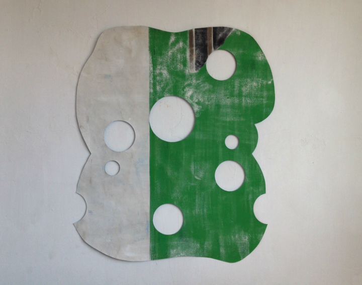 Kristoffer Ardeña .- Utot 2. Pintura sobre lienzo. 76 x 68 cm.