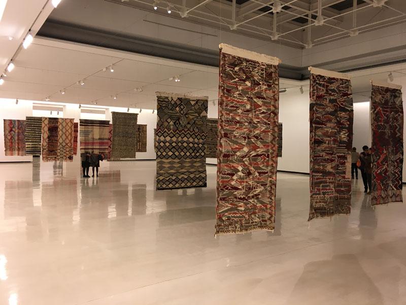 Teresa Lanceta  - Vista de la exposición Adios al Rombo en Azkuna Zentroa