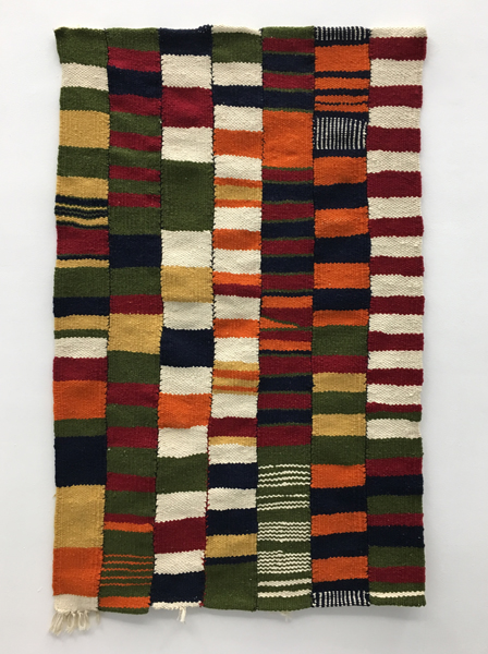 Teresa Lanceta - Sin titulo. 2000. Lana y algodón. 144 x 90 cm.