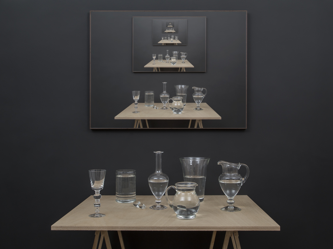 Miguel ÁNgel Gaüeca - Glass Table. 2017