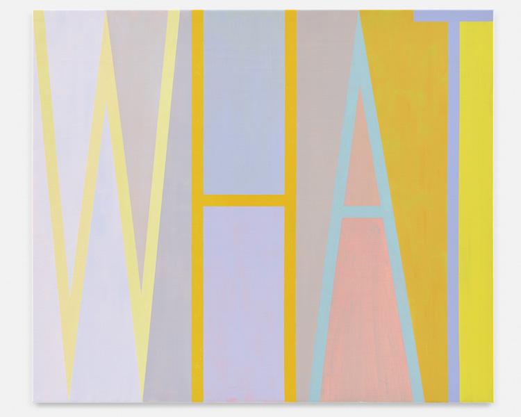 Anne Berning - WHAT. 2018. 170x200. MEDIA