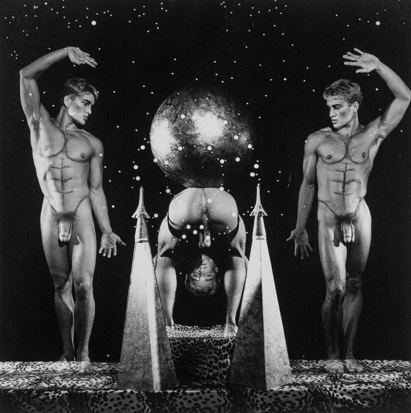 Steven Arnold - Center of the Universe. 1989. Gelatina de plata vintage. 20' x 16'. Ed. de 12.