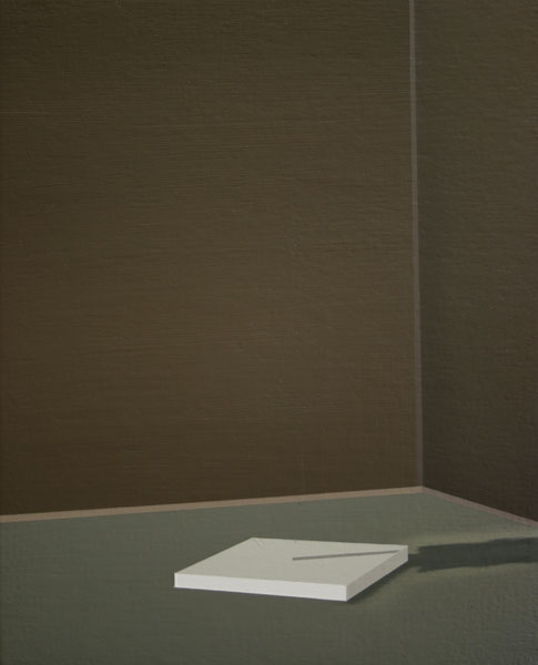 Antonio Montalvo .- Promesa. Óleo sobre lienzo, 30 x 25 cms, 2008