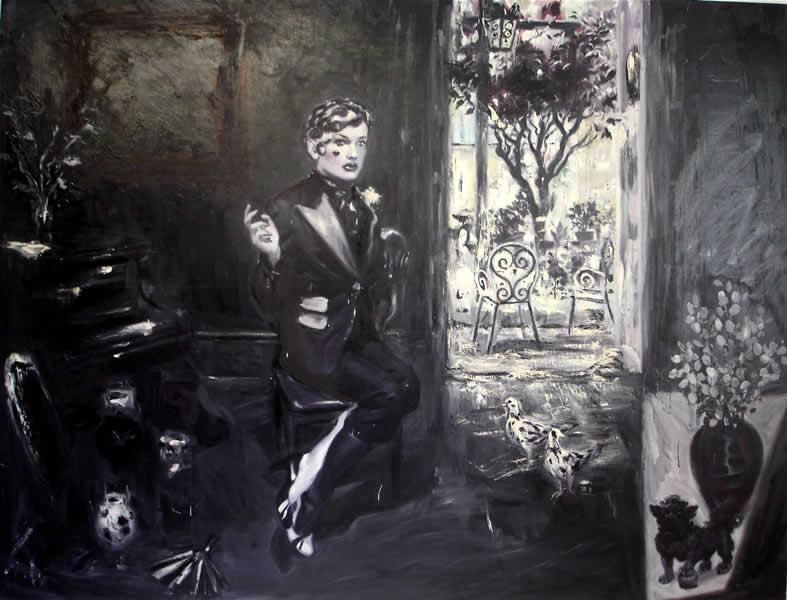 Philip Jones .- The Eclipse. Óleo sobre lienzo, 173 x 227 cms, 2008