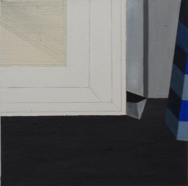 Karolina Zdunek .- s/t (Diary series). Oil on canvas, 40 x 40 cms, 2009