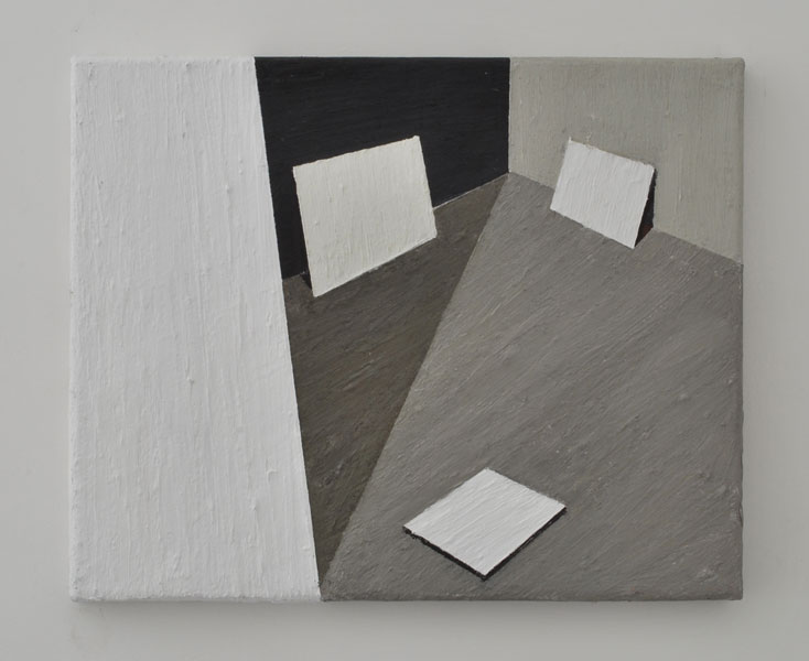 Karolina Zdunek .- s/t (Diary series). Oil on canvas, 33 x 41 cms, 2009