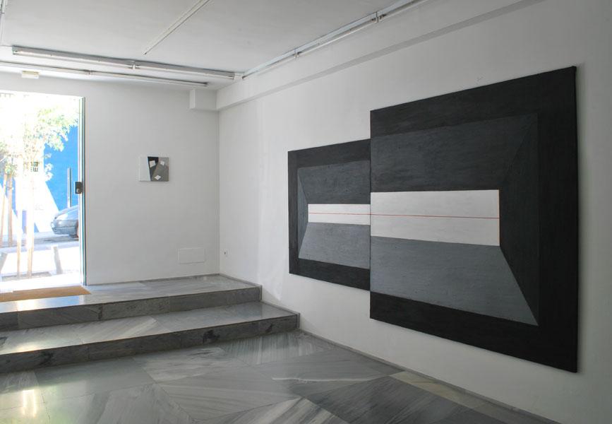 Karolina Zdunek .- Lost in Perspective (installation view)