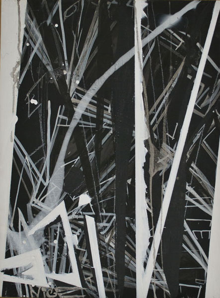 Suzanne McClelland .- NICENICENICE. Acrylic and graphite on panel, 64,8 x 49,5 cms, 2010