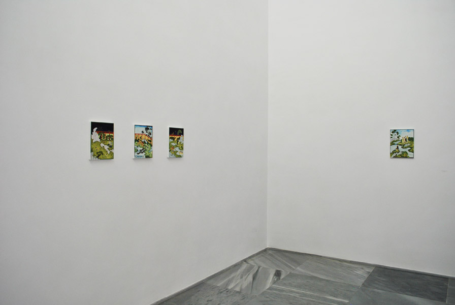 Larissa Bates .- Snap and Go (installation view)